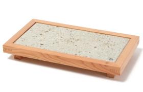 Nikko Cedar Frame and Oya Stone Plate 10sun 5sun 1plate