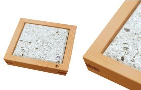 Nikko Cedar Frame and Oya Stone Plate 5sun 1plate